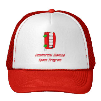 Commercial Manned Space Program Hat