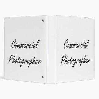 Commercial Photographer Artistic Job Design Binders