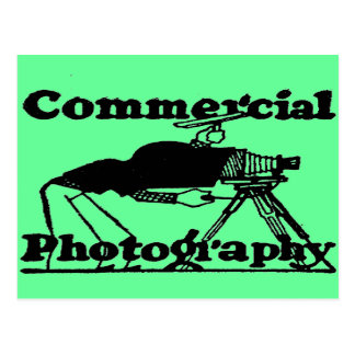 COMMERCIAL PHOTOGRAPHY POSTCARD