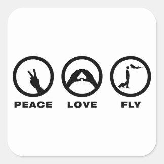 Commercial Pilot Square Sticker