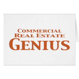 Commercial Real Estate Genius Gifts Card