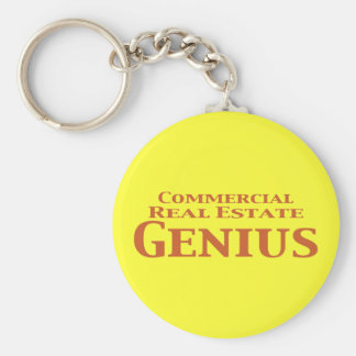 Commercial Real Estate Genius Gifts Keychains