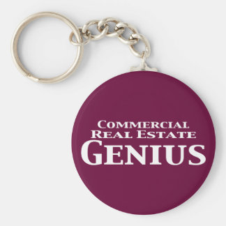 Commercial Real Estate Genius Gifts Key Chains