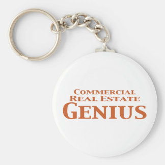 Commercial Real Estate Genius Gifts Keychain