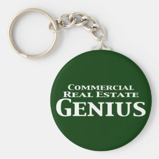 Commercial Real Estate Genius Gifts Key Chain