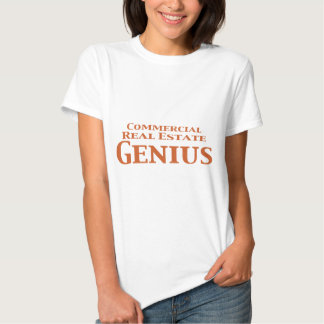 Commercial Real Estate Genius Gifts Tee Shirt