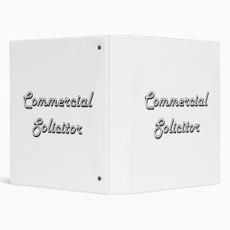 Commercial Solicitor Classic Job Design Binders
