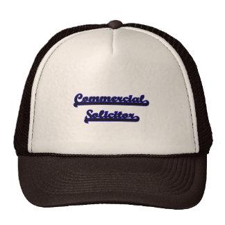 Commercial Solicitor Classic Job Design Trucker Hat