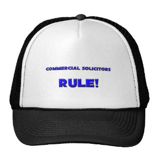 Commercial Solicitors Rule! Trucker Hat