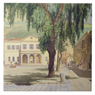 Commercial Square, the Commercial Library and the Ceramic Tile