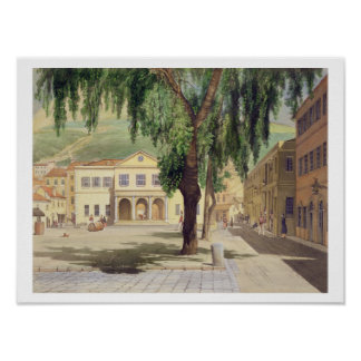 Commercial Square, the Commercial Library and the Poster