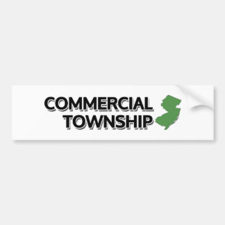 Commercial Township, New Jersey Bumper Sticker