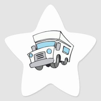 COMMERCIAL TRUCK STAR STICKER