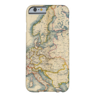 Commerciale Industrial Map of Europe Barely There iPhone 6 Case