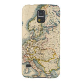 Commerciale Industrial Map of Europe Cases For Galaxy S5
