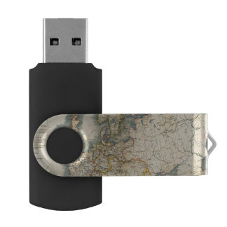 Commerciale Industrial Map of Europe Flash Drive