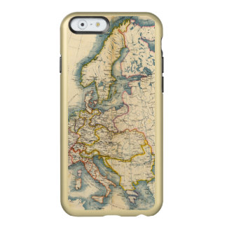 Commerciale Industrial Map of Europe Incipio Feather® Shine iPhone 6 Case