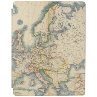 Commerciale Industrial Map of Europe iPad Cover