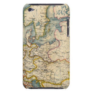 Commerciale Industrial Map of Europe iPod Touch Covers