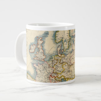 Commerciale Industrial Map of Europe Large Coffee Mug