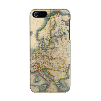 Commerciale Industrial Map of Europe Metallic iPhone SE/5/5s Case