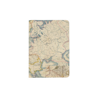 Commerciale Industrial Map of Europe Passport Holder