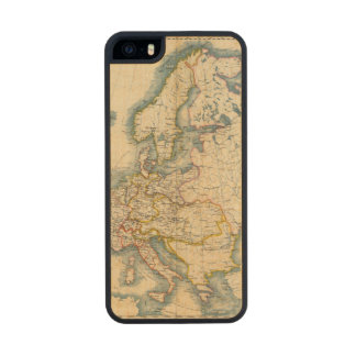 Commerciale Industrial Map of Europe Wood iPhone SE/5/5s Case