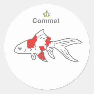 Commet g5 classic round sticker