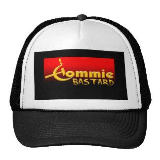 commie bastard trucker hat