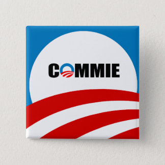 COMMIE BUTTON