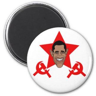 Commie de Obama Imán Redondo 5 Cm