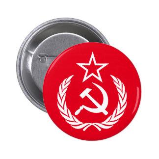 Commie Pin Redondo 5 Cm