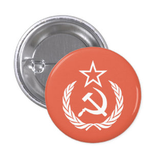 Commie viejo de YE Pin Redondo 2,5 Cm