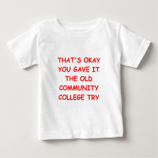 comminity college try tshirt