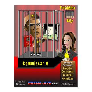 Commissar O Postcard