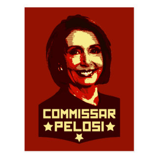 Commissar Pelosi Postcard