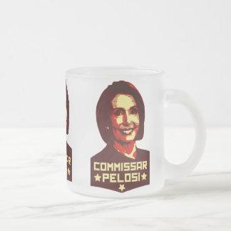 Commissar Pelosi Taza De Café Esmerilada