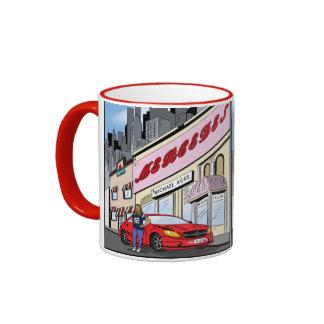 Commission Comic Artwork Ringer Coffee Mug