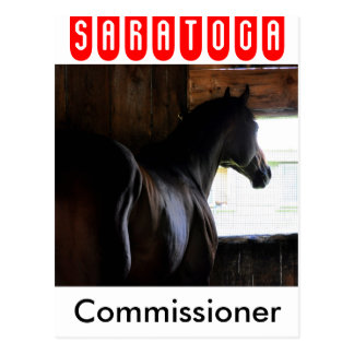 Commissioner Postcard