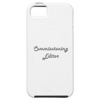 Commissioning Editor Classic Job Design iPhone 5 Cases