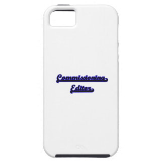 Commissioning Editor Classic Job Design iPhone 5 Covers