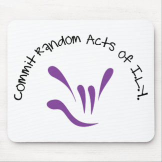 commit-random-acts-of-ily mouse pad