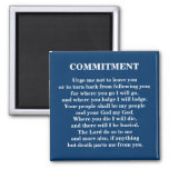 COMMITMENT - 1118 FRIDGE MAGNETS