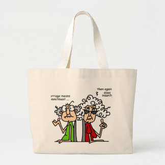 Commitment - Insanity Large Tote Bag