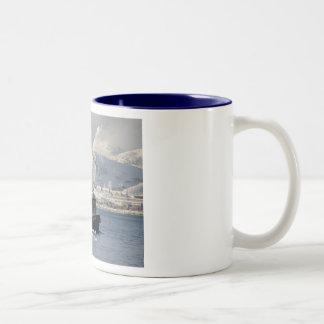 Commitment, Longliner in Dutch Harbor, Alaska Coffee Mugs
