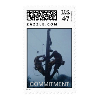 Commitment Postage Stamp