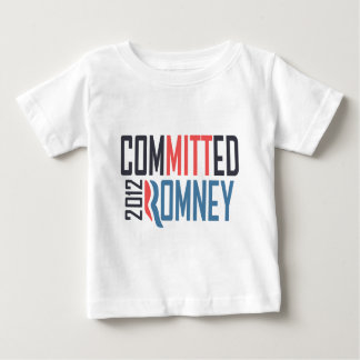 Committed Romney Baby T-Shirt