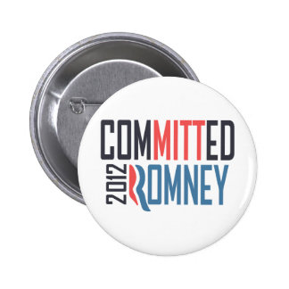 Committed Romney Button