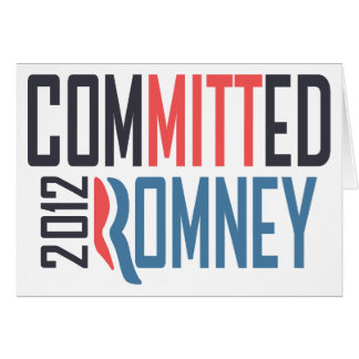 Committed Romney Card