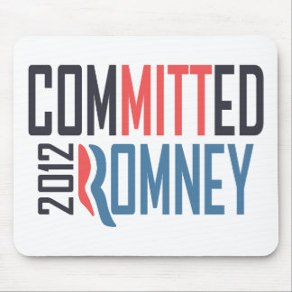 Committed Romney Mouse Pad